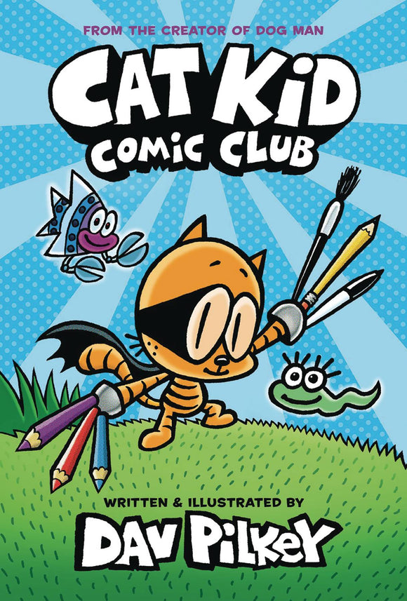 Cat Kid Comic Club Hc Gn Vol 01