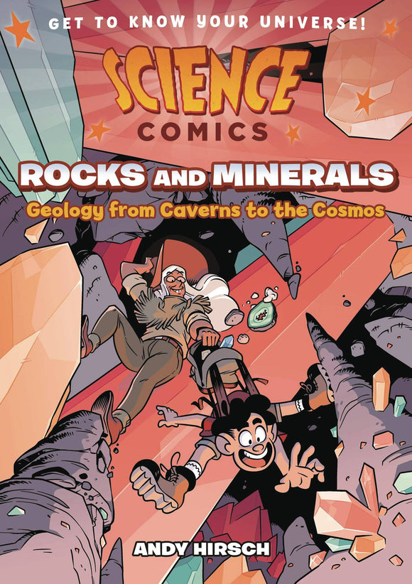 Science Comics Rocks & Minerals Gn