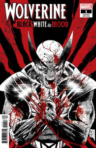 Wolverine Black White Blood #1 (Of 4) Daniel Var