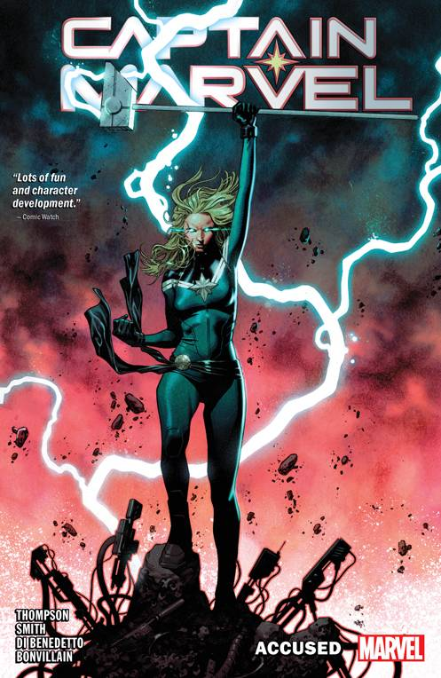 Captain Marvel Tp Vol 04 Accused