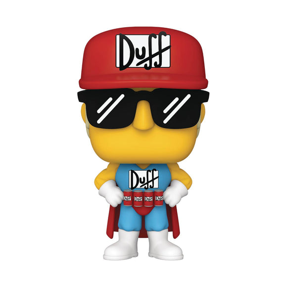 Pop Animation Simpsons Duffman Vin Fig
