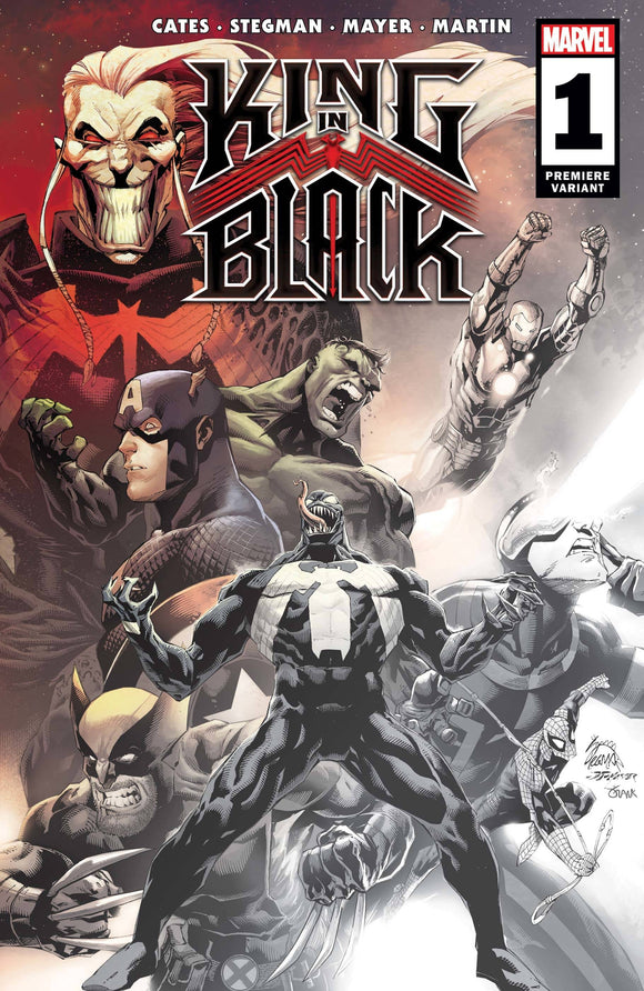 King In Black #1 (Of 5) Stegman Premiere Var