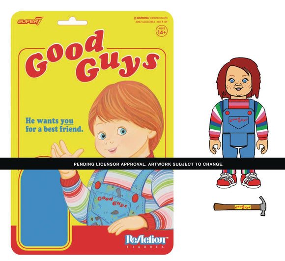 Childs Play W1 Good Guys Chucky Reaction Figure