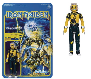 Iron Maiden Live After Death Risen Eddie Reaction Figure
