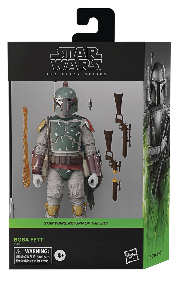 Sw Black Series 6In Dlx Boba Fett Af Cs