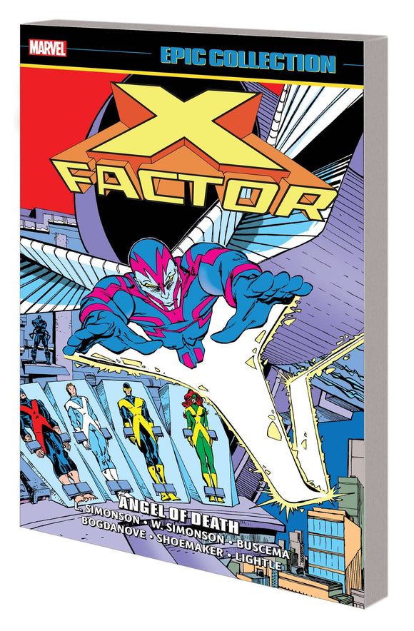 X-Factor Epic Collection Tp Angel Of Death