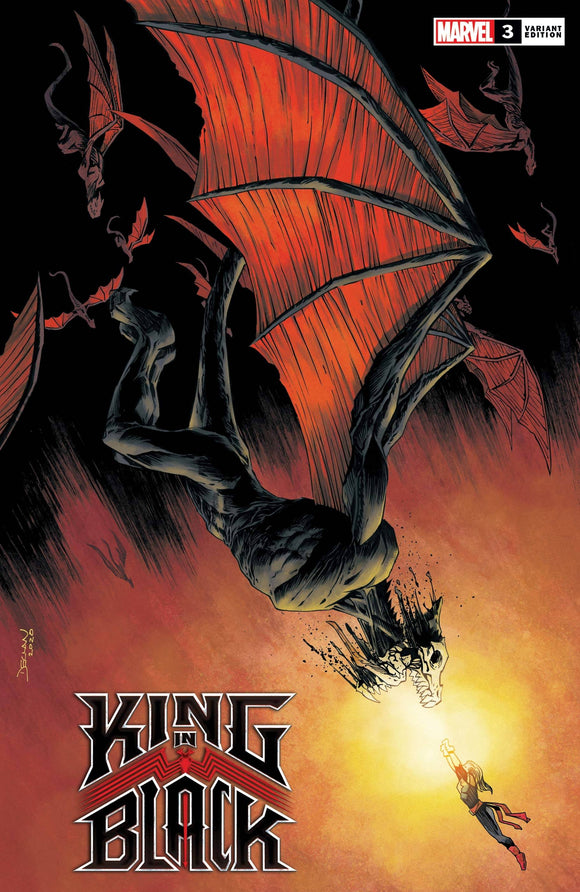 King In Black #3 (Of 5) Shalvey Dragon Var