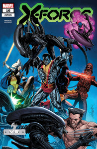 X-Force #16 Larroca Marvel Vs Alien Var