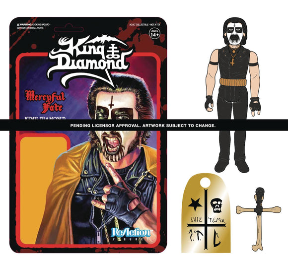 King Diamond First Tour Reaction Figure