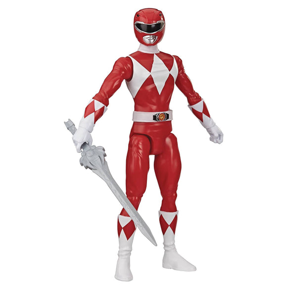 Power Rangers Mmpr Red Ranger 12In Af Cs