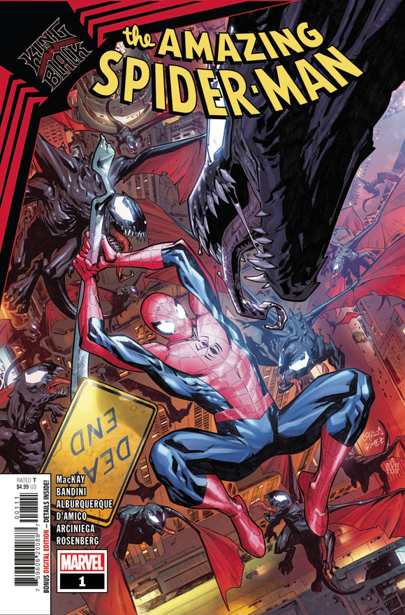 King In Black Spider-Man #1