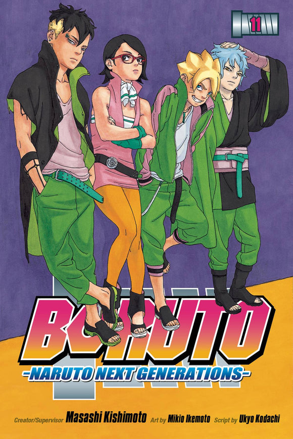 Boruto Gn Vol 11 Naruto Next Generations
