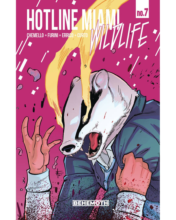 Hotline Miami Wildlife #7 (Of 8)