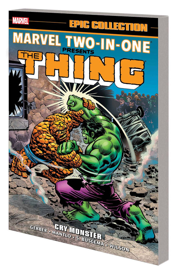 Marvel Two In One Epic Collection Tp Cry Monster New P