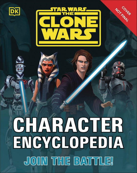 Star Wars Clone Wars Character Encyclopedia Sc