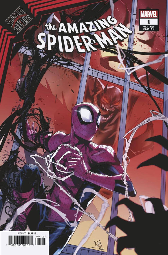 King In Black Spider-Man #1 Vincentini Var