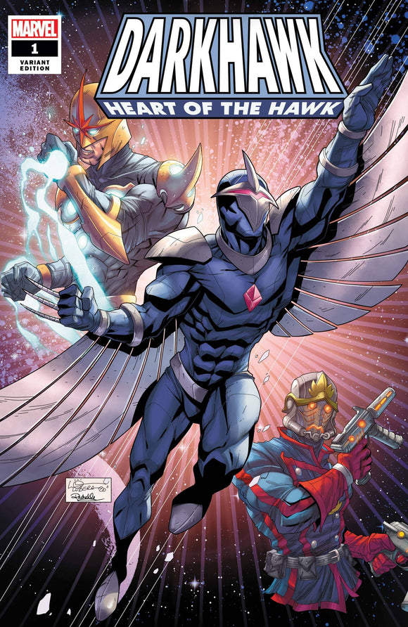 Darkhawk Heart Of Hawk #1 Lubera Var