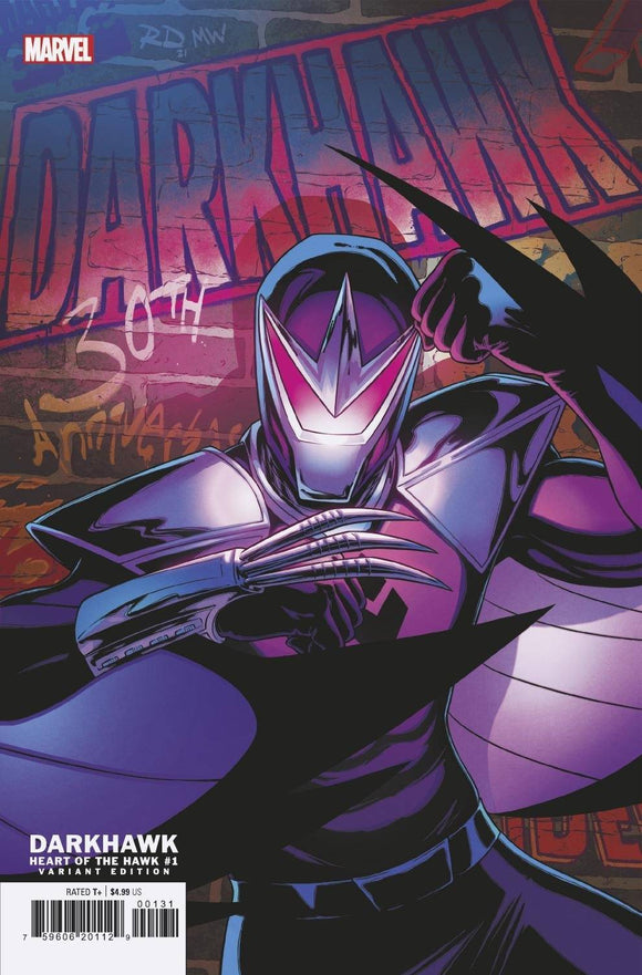 Darkhawk Heart Of Hawk #1 Dauterman Var