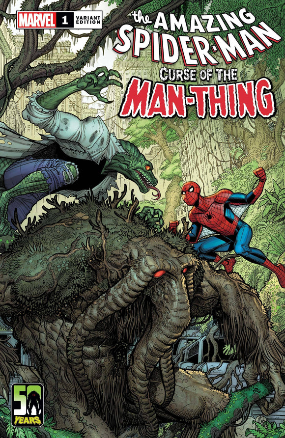 Spider-Man Curse Of Man-Thing #1 Bradshaw Var