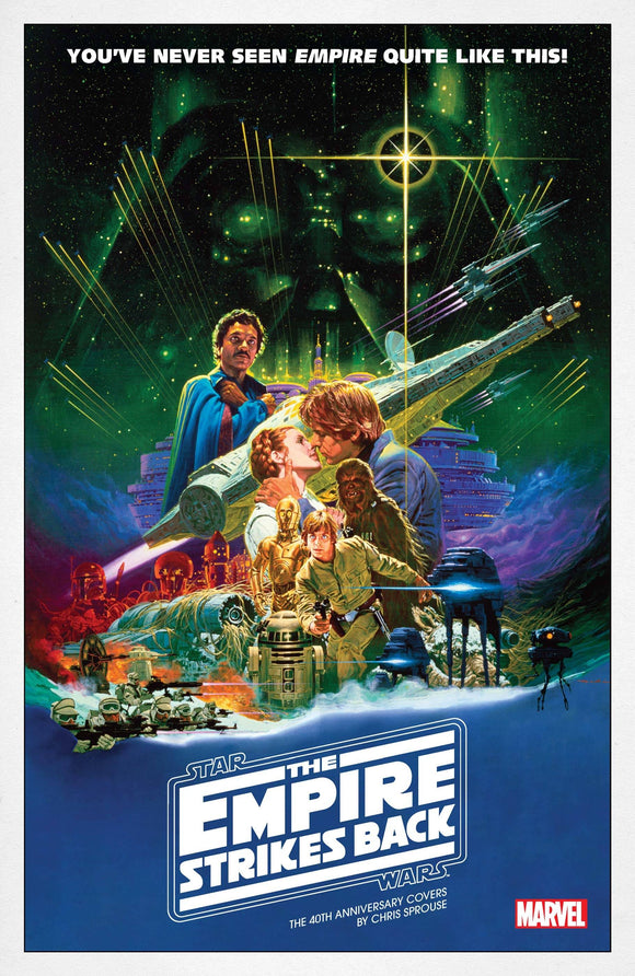 Star Wars Empire 40Th Anniv Cvr Sprouse #1 Movie Poste