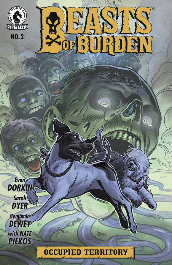 Beasts Of Burden Occupied Territory #2 (Of 4)