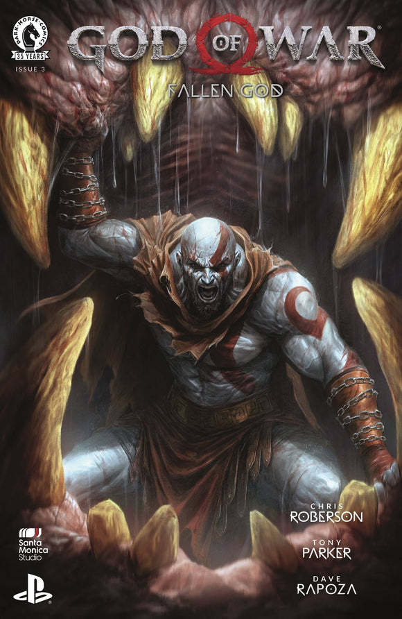 God Of War Fallen God #3 (Of 4)