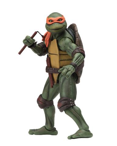 TMNT NECA 1990 Movie Michelangelo Figure