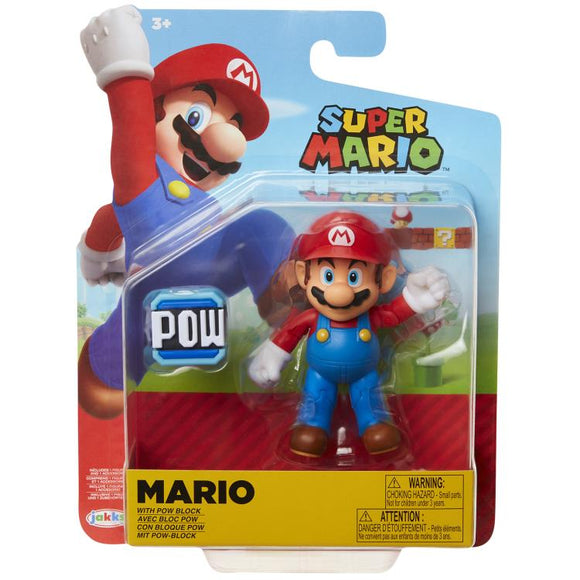 World Of Nintendo Standard Mario 4In