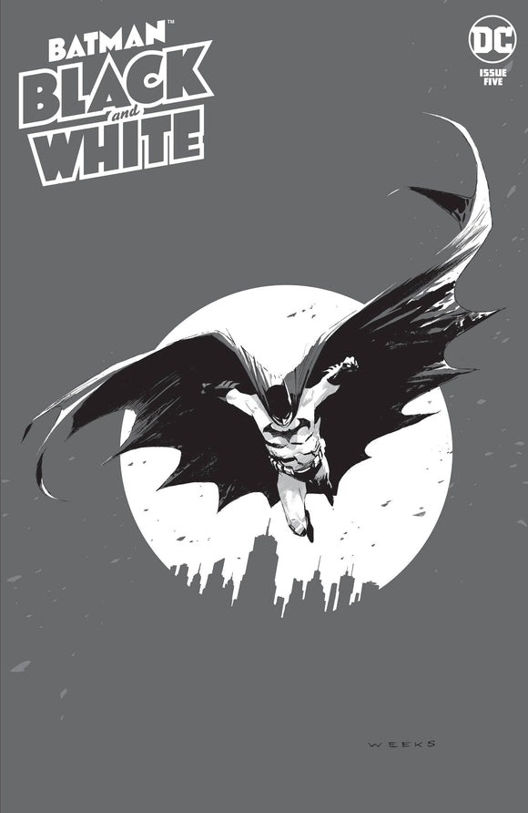 Batman Black & White #5 Cvr A Lee Weeks (Of 6)