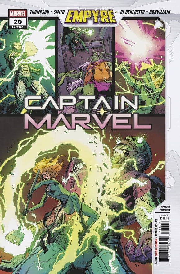 Captain Marvel #20 2Nd Ptg Var Emp