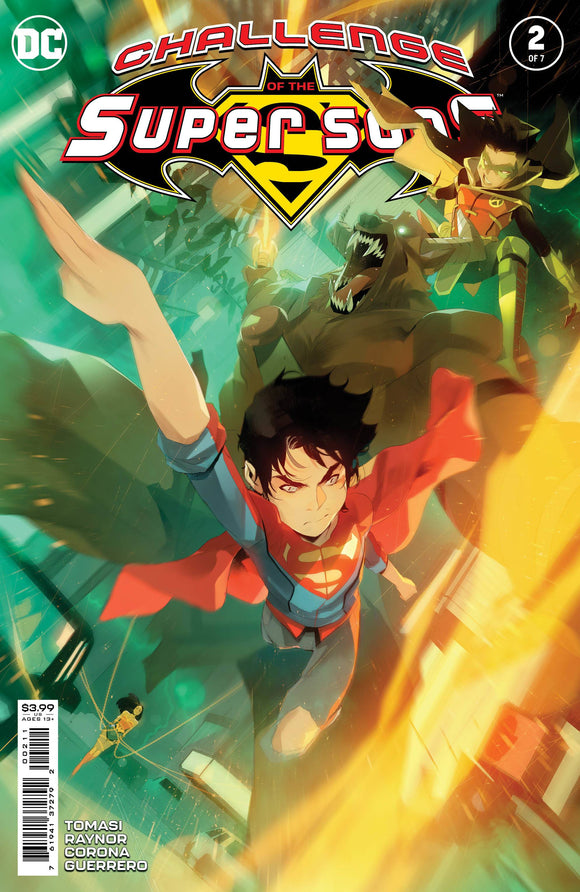 Challenge Of The Super Sons #2 Cvr A Simone Di Meo