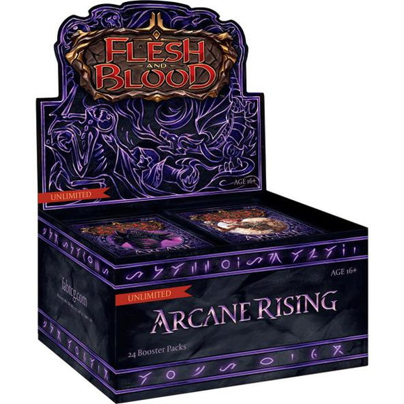 Flesh And Blood Arcane Rising Booster Box Unlimited
