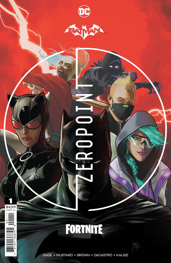 Batman Fortnite Zero Point #1 Cvr A Mikel Janin