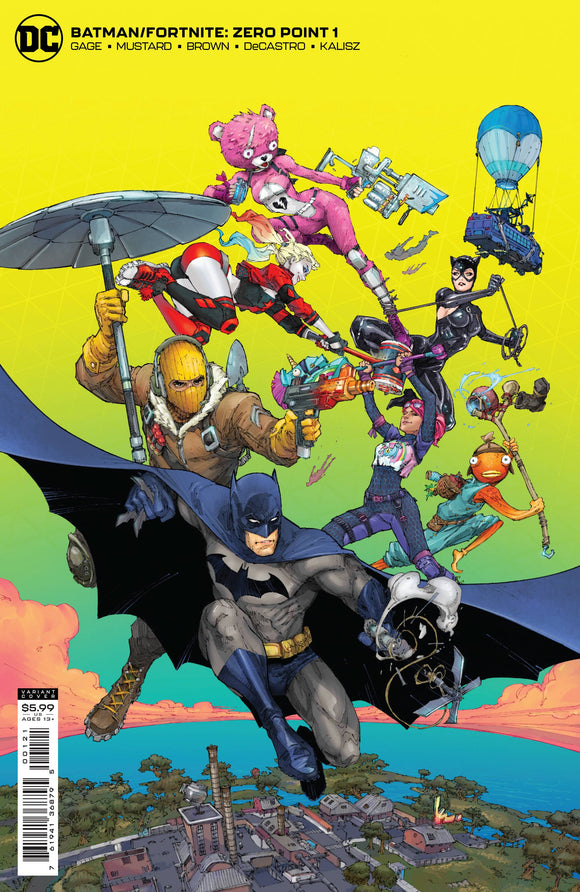 Batman Fortnite Zero Point #1 Cvr B Kenneth Rocafort C