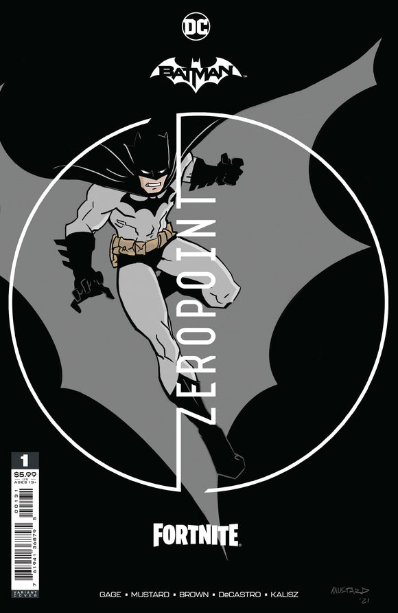 Batman Fortnite Zero Point #1 Premium Variant A