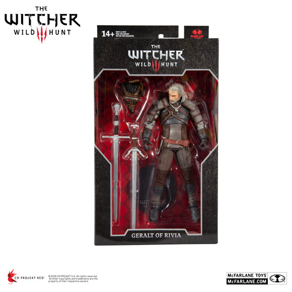 Witcher 7In Scale Geralt Of Rivia Af