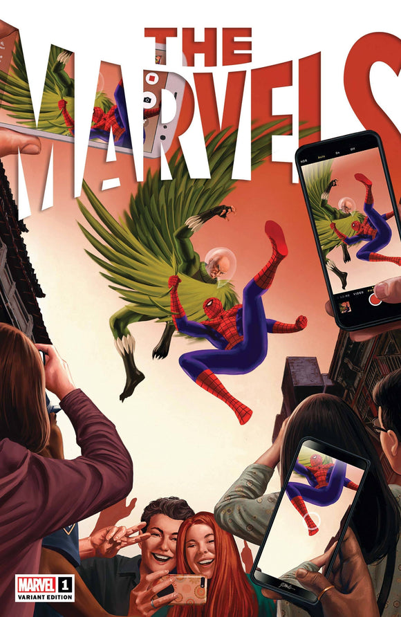 The Marvels #1 Epting Var