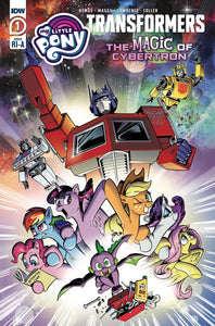 Mlp Transformers Ii #1 (Of 4) 10 Copy Jon Gray Incv