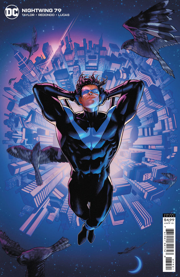 Nightwing #79 Cvr B Jamal Campbell Card Stock Var