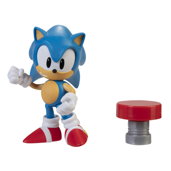 Sonic The Hedgehog 4In Articulated Af Wv4 Classic Sonic