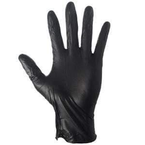 Grease monkey black nitrile glove