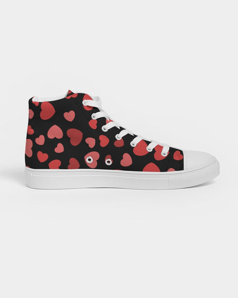 Women's Hightop Canvas Sneakers