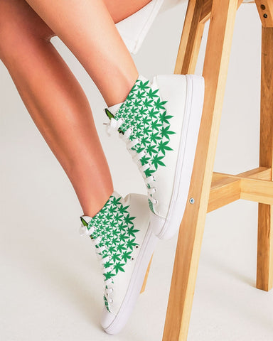 420 Women's Hightop Canvas Sneakers