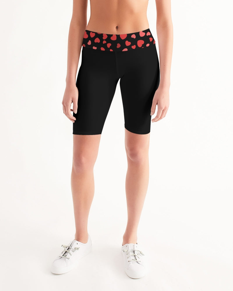 JLE By GrOOves Women's Mid-Rise Bike Shorts