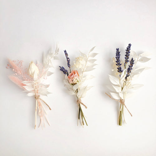 Dried Flowers Mini Bouquets