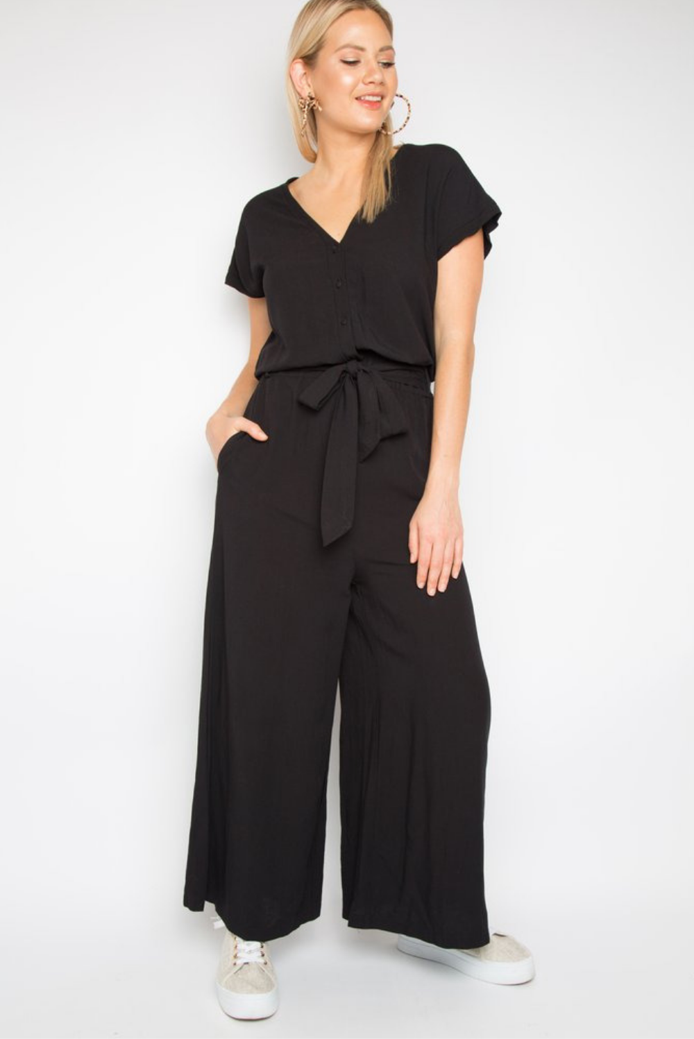 RO Paris Jumpsuit In Black