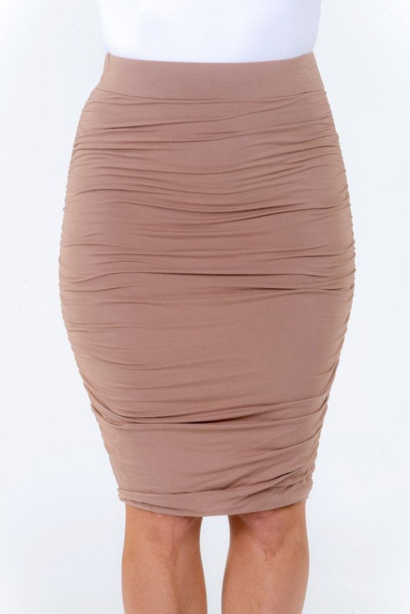 RO Latte Ruche Skirt