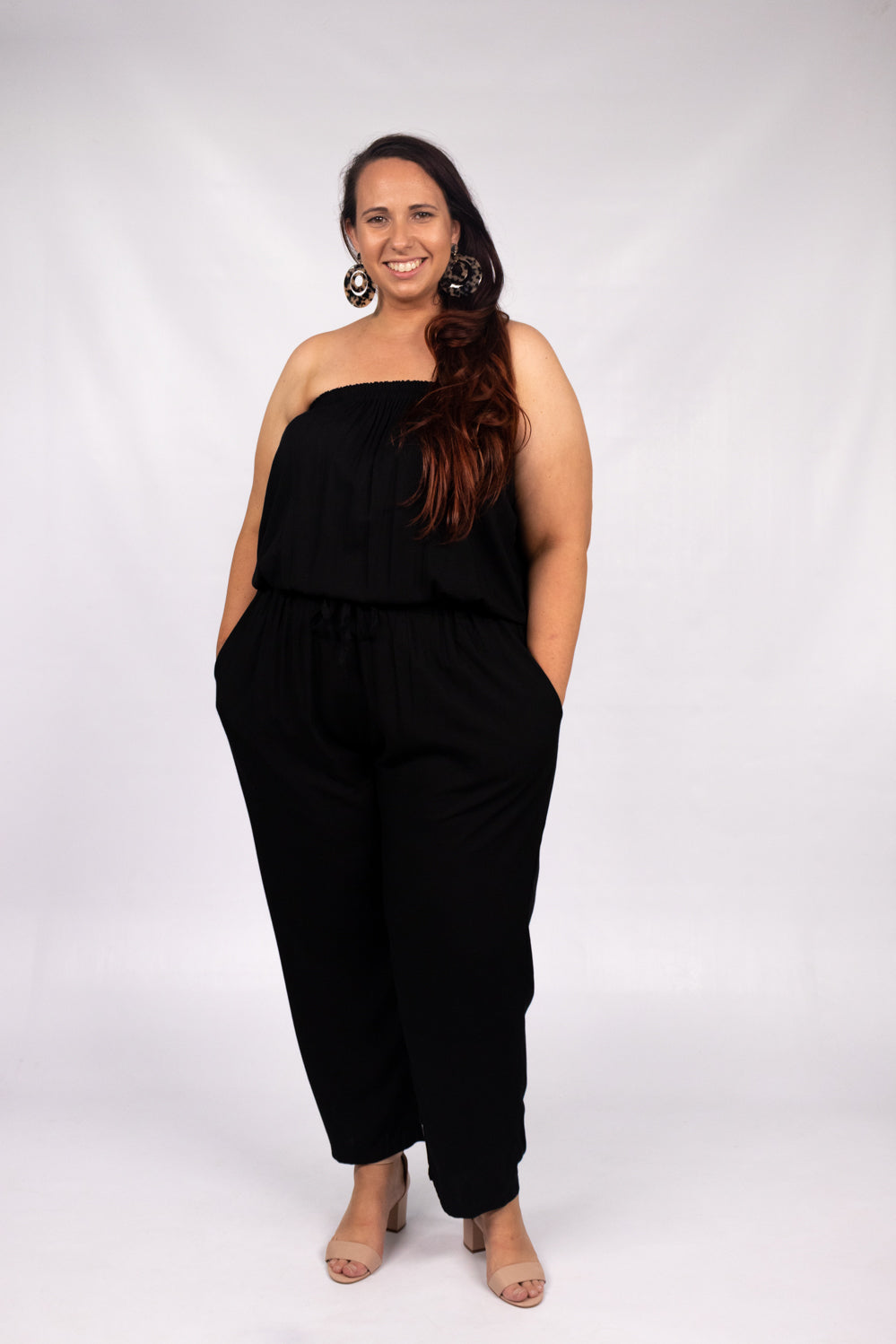 RO Living It Up Jumpsuit In Black