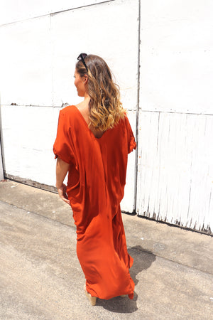 RO Honolulu In Rust Long Maxi