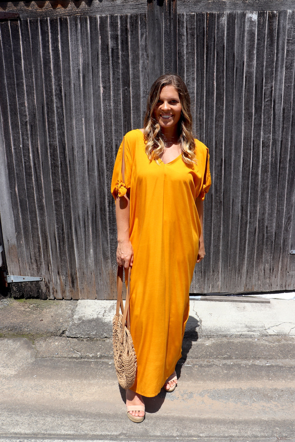 RO Honolulu In Turmeric Long Maxi
